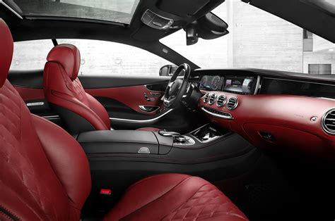 2015 mercedes s class coupe interior passenger side