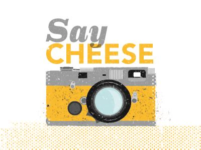 say cheese! by james olstein dribbble