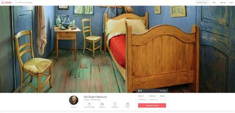 chambre de dormir usa dormir dans quot la chambre de gogh quot pour dix dollars
