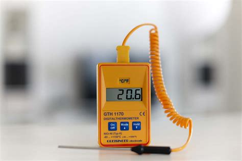 Termometer Gula kalibrera gresinger gth 1170 lindh craft