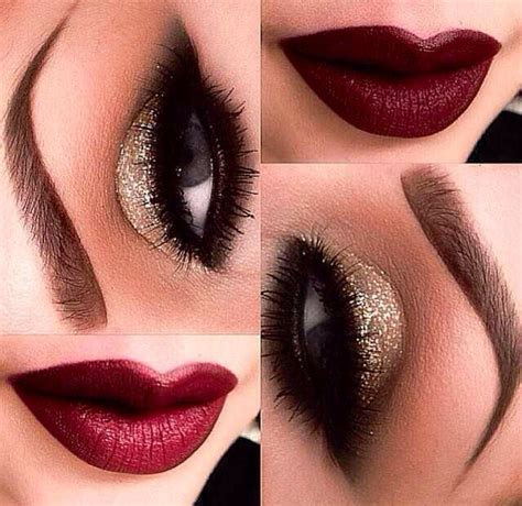 bright and sparkly holiday makeup i love cute makeup