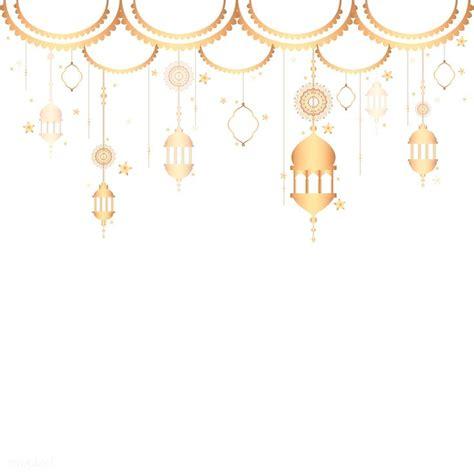 premium vector  lanterns pattern  blank white