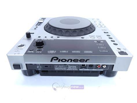 cd deck pioneer cdj850 silver dj cd player deck whybuynew