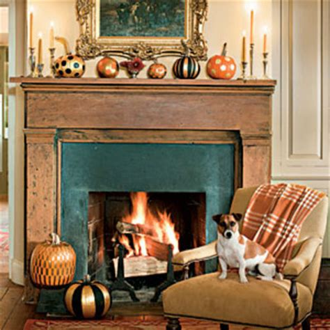 fancy pumpkin display fall decorating ideas southern living - Southern Living Fall Decorating Ideas