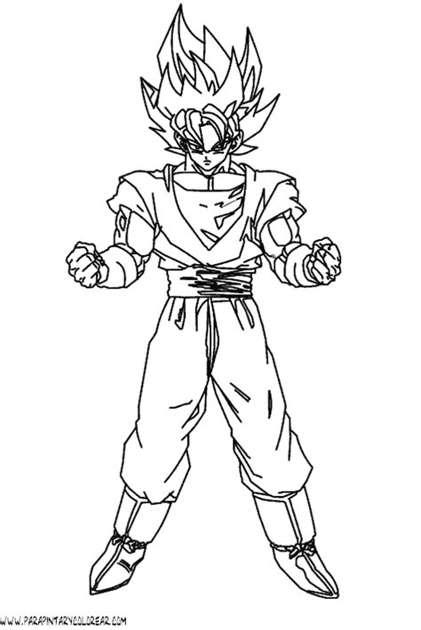 dibujos de dragon ball fotos ideas para colorear ellahoy dibujos son goku para colorear gallery of dragon ball z