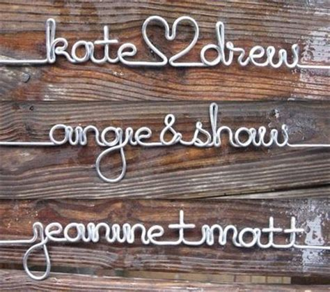 Diy Wedding Hangers Font by 17 Best Images About Wire Words On Cursive