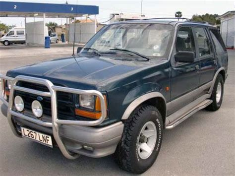 93 Ford Explorer by 1993 Ford Explorer Airbags