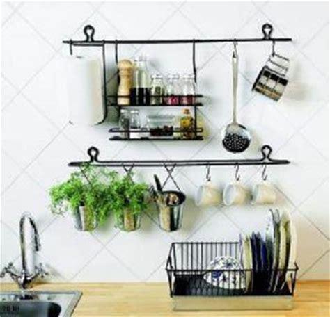 How To Organize Small Kitchen Appliances - kitchen wall storage afreakatheart