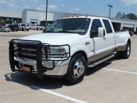 ford  super duty king ranch crew cab dually data