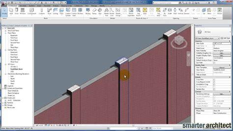 revit tutorial walls revit tutorials wall sweeps youtube