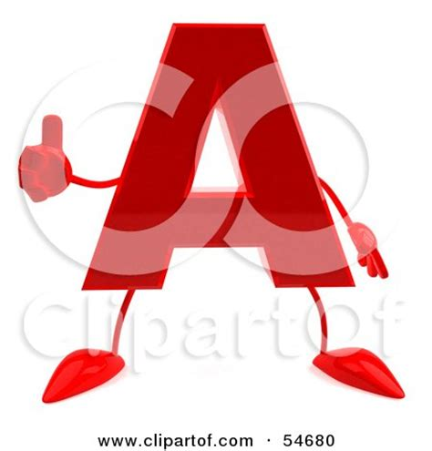 up letter to leg royalty free rf clipart illustration of a 3d letter