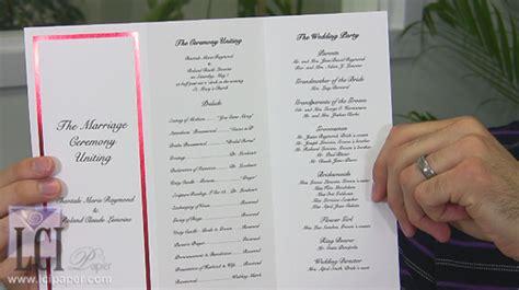 diy wedding program premium wedding ideas