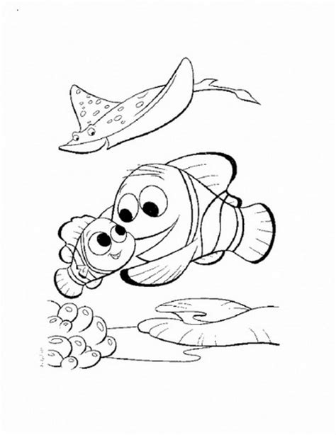 pictures nemo coloring pages free printable nemo coloring pages for kids