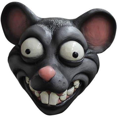 adult cartoon rat halloween animal mask – funny rat mouse mask
