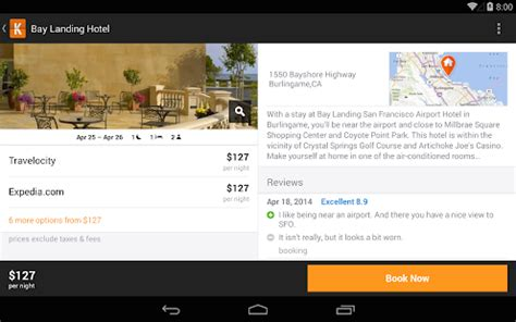 kayak flights, hotels & cars android apps on google play