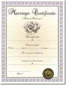 Best Photos of Certificate Of Marriage Template Ohio