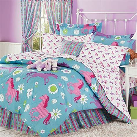kids horse bedding horse bedding for girls teen little girl horse bedding