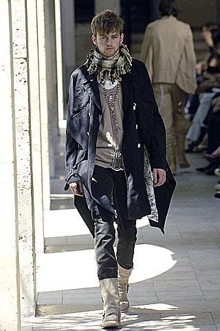 Kurt Cobain Inspires Number Nines Springsummer Collection by Menswear Monday Number N Ine 2007 Fashion Grunge