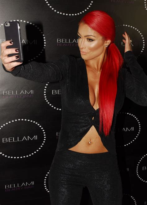 Eva Marie Bellami | eva marie bellami beauty bar in west hollywood may 2016