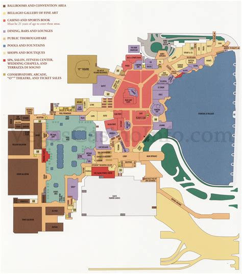 caesars palace map bellagio las vegas nv snap map