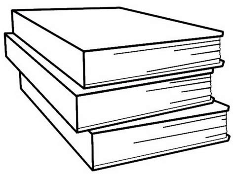 Stack Books Coloring Page 587749 171 Coloring Pages For Free Colouring Pages Book