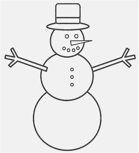 Snowman Coloring Page Pdf | snowman coloring sheets free coloring sheet