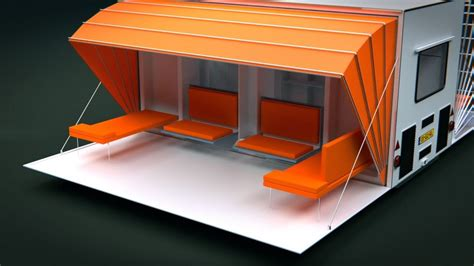 home design 3d trailer quot the awning quot mobile living the awning tiny house on wheels