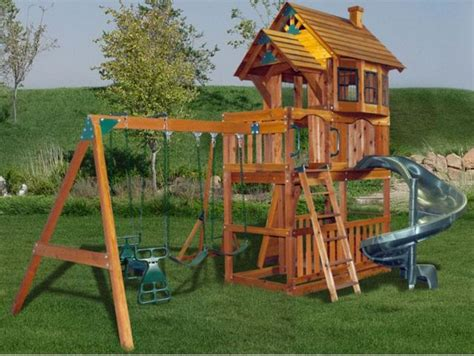 Yard Swing Sets Backyard Leisure Recalls Swing Sets Due To Fall Hazard