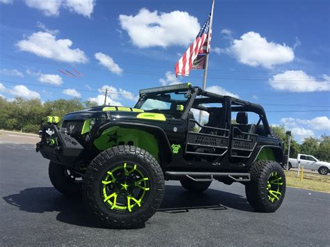 Custom Jeeps Florida 2017 Jeep Wrangler Unlimited Biohazard Custom Lifted