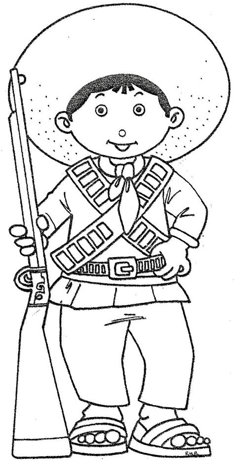 imagenes sobre la revolucion mexicana para niños pinto dibujos dibujos de la revoluci 243 n mexicana 20 de