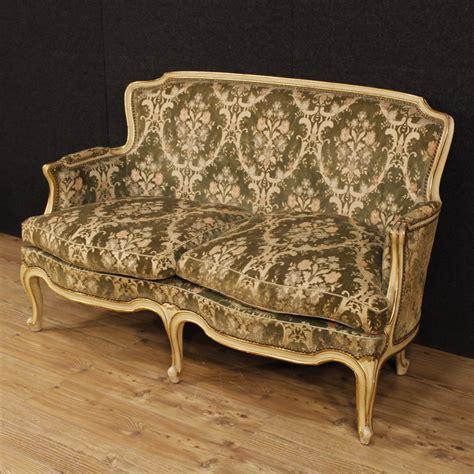 divani stile antico divano laccato mobile sof 224 legno dorato salotto italiano