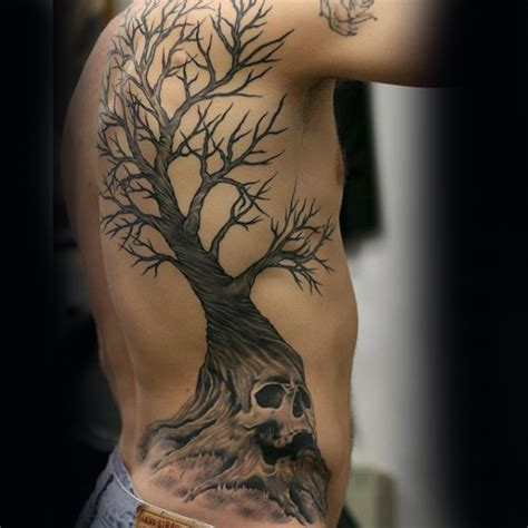 51 famous skull tree tattoo ideas and designs about skull
