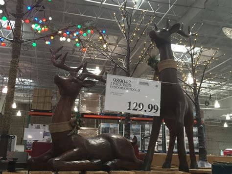 costcos lighted star 2015 2 pack deer indoor outdoor at costco costcochaser