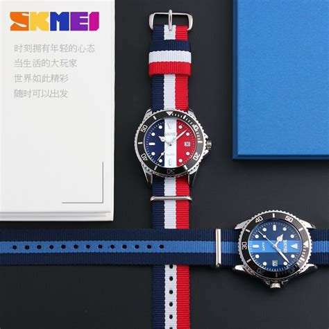 Skmei Casual Colorful Army Water Resistant 30m 2 skmei jam tangan analog pria 9133c black blue