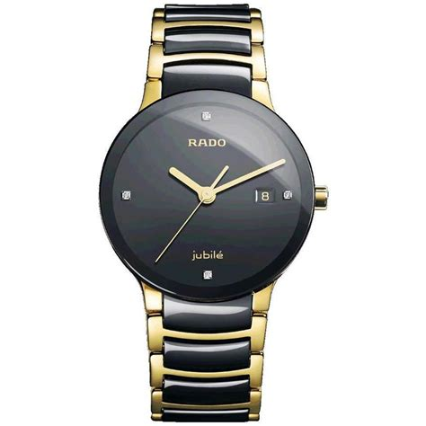 Rado Rado rado jubile gold black ceramic for original box