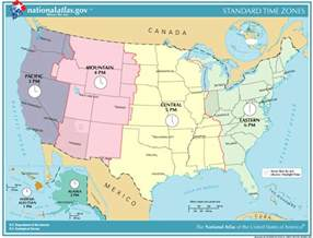 list of u s states by time zone simple