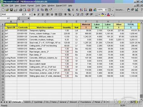 Quickbooks Invoice Template Excel by Excel Invoice Templatememo Templates Word Memo Templates