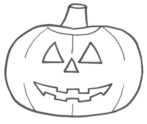 jackolantern templates 4 coloring sheets