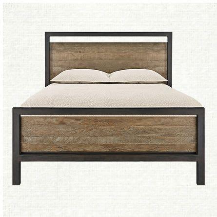 arhaus bedding palmer oak queen bed arhaus master bedroom pinterest