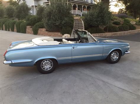 1964 plymouth valiant for sale 1964 plymouth valiant signet 200 convertible for sale