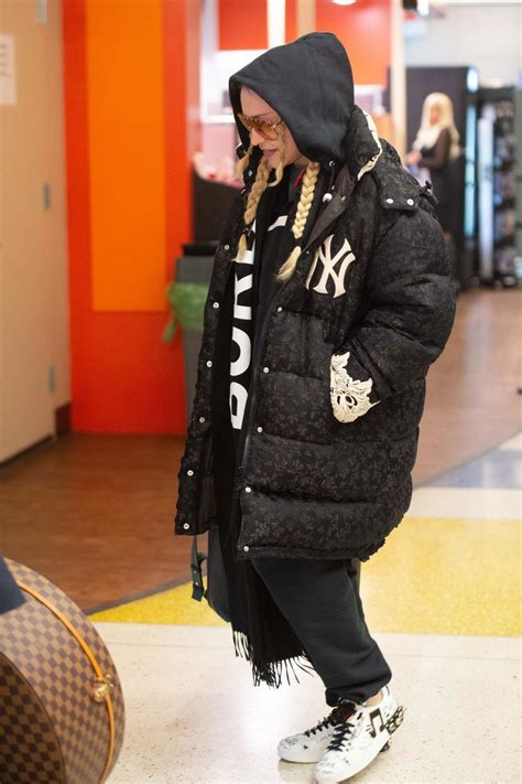 madonna winter style