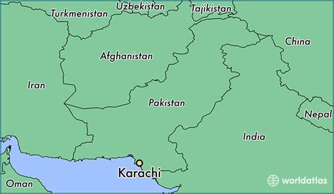 where is karachi on the world map where is karachi pakistan where is karachi pakistan