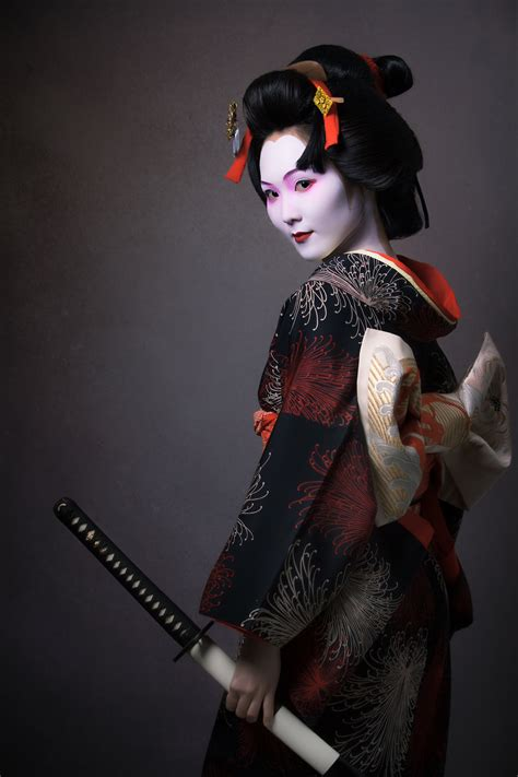 geisha tattoo with sword pin by lerryd s on geisha pinterest x search and