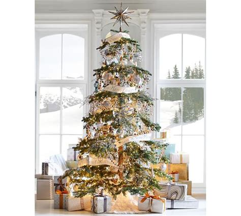 restoration hardware christmas trees for sale gold mirrored tree topper pottery barn