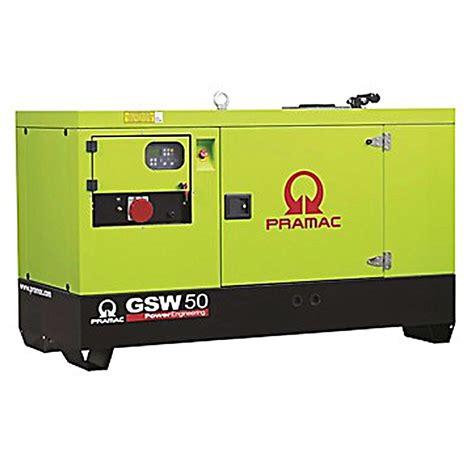 pramac gsw50y diesel generator yanmar engine pramac