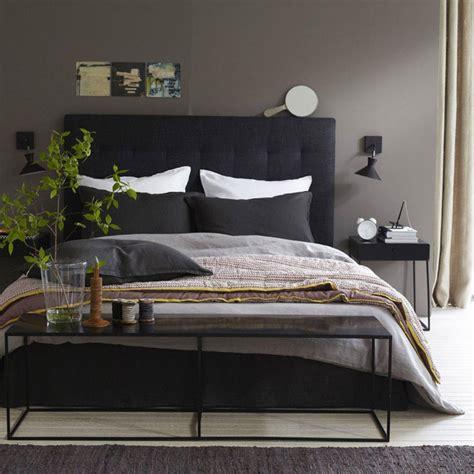 lit de chambre decoration chambre tete de lit 4