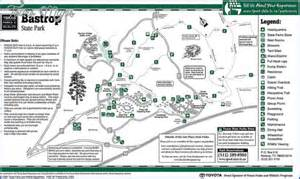 Bastrop State Park Map by Bastrop State Park Map Texas Map Travel Holiday