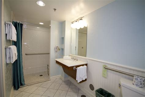 Disney Bathroom Ideas Port Orleans Disability Accessible Guest Rooms