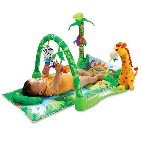 Rainforest Baby Play Mat by Rainforest 1 2 3 Musical