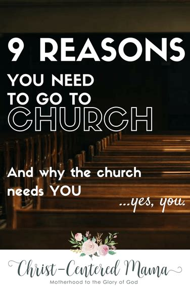 9 Reasons To Go Cing by 9 Reasons You Need To Go To Church Centered
